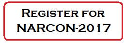 The Register for NARCON-2017 Button