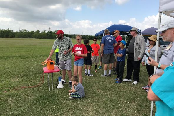 Family-friendly Model Rocket Launch