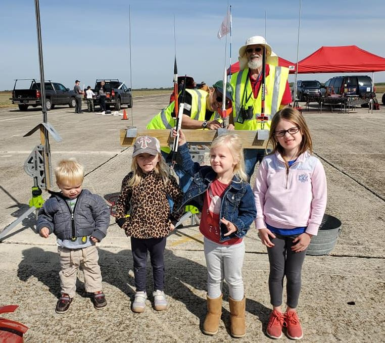 Family Friendly Model Rocket and HPR Launch